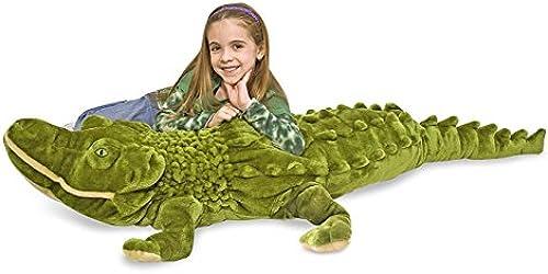 Melissa & Doug Alligator-Plush (Plüsch-Weißhe Spielzeuge)