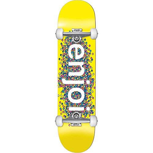 Enjoi Skateboard Candy Coated Factory, 21 cm, Gelb