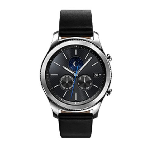 Samsung Gear S3 Classic Smartwatch, 4 GB, GPS, IP68, Silver [Versione Italiana]