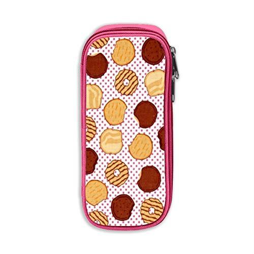 Riley Blake Mädchen Scouts Cookies Unisex Oxford Tuch Federmäppchen Büro Schule Schreibtisch Bleistifttasche mit Reißverschluss Einheitsgröße rose