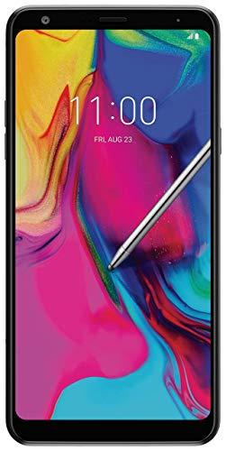 LG Stylo 5 Smartphone, 32GB Memory, Unlocked Cellular - Aurora Black (Renewed)