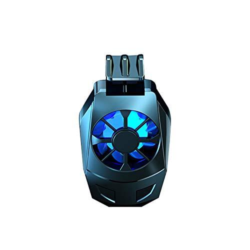 foreverH Telefonkühler, Handy kühler Tragbarer Heizkörper Geschenk Mini Mobile Kühler Spielzubehör Telefonkühlventilator zum Anschauen von Gamecontroller