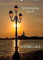 Spaziergang durch Venedig (Wandkalender 2022 DIN A2 hoch): Fotografien von Venedig (Monatskalender, 14 Seiten )
