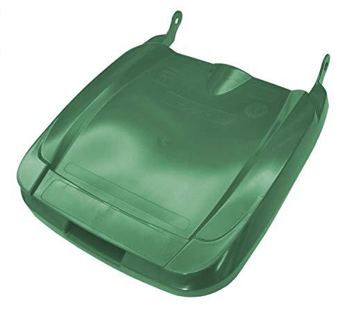 Sulo Mülltonnendeckel Deckel für Mülltonnen in der Form Euro2 für Müllgroßbehälter MGB 120 Liter (grün)