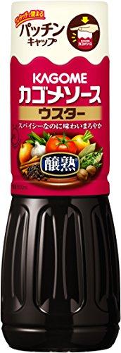 カゴメ 醸熟ソース ウスター 500ml×4個