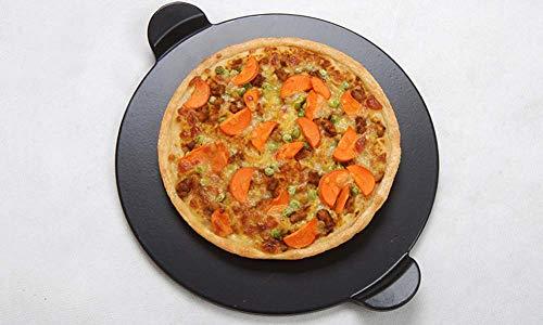 13 Zoll Cordierite Hochtemperaturbeständiges Glasiertes Pizza Board/Pizzastein Für Grill-Pizzaöfen Im Freien