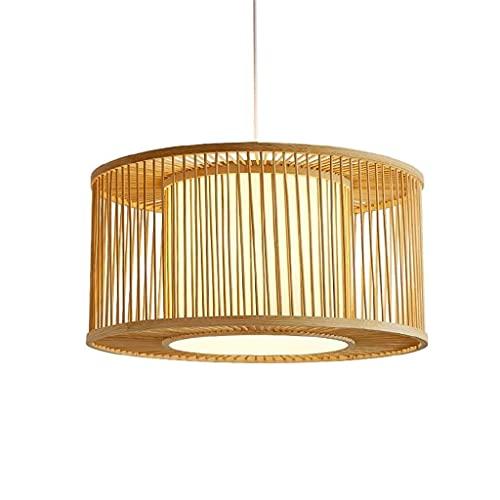 N/Z Home Equipment Handmade Pendant Lamp Rattan Art Woven E27 Modern Study Bedroom Lighting Creative Restaurant Bar Cafe Ceiling Decoration Pendant Light