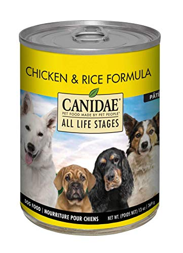 Canidae All Life Stages Wet Dog Food, Chicken and Rice, 13oz (Pack of 12)