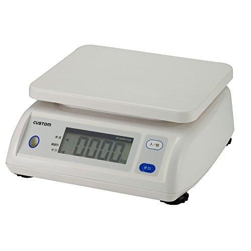 カスタム (CUSTOM) 防滴デジタルはかり 5kg CS-5000S