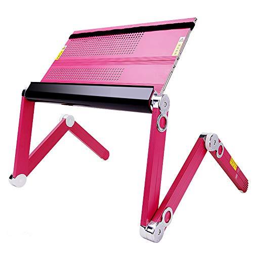 Feng Xu Laptop Stand - aluminium legering, kan Lying plat gebruik, 360° draaiende gezamenlijke benen, eenvoudige home office universele notebook lift luie warmte wastafel beugel opklapbaar bureau - 3 kleuren 2 Laptop