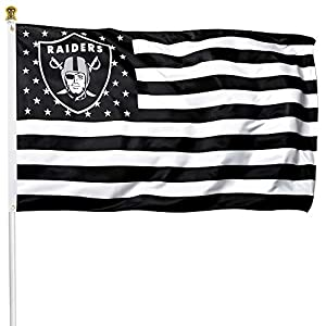 Tanxii Fans Premium Flag for Las Vegas Football Team 150D Thick Quality Polyester 3x5 FT Poster USA Stars and Stripes Sports Banner from Tanxii