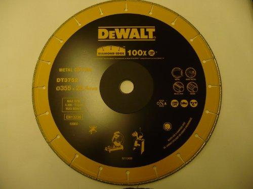 Dewalt DT3752-QZ Disco de diamante Extreme para tronzadora