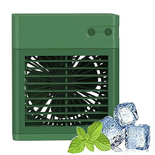 YMXLXL Refrigerador de Aire Portátil, Mini Ventilador del Aire Acondicionado, Ajuste de 3 Velocidades, Capacidad del Tanque de Agua de 400ml, para el Dormitorio de la Oficina en Casa