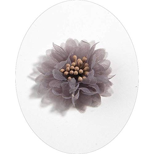 WFGT 10PCS 4CM 1.5' Artificial Fabric Flower For Dress Wedding Bouquet Jewelry Accessories Brooch Production Clothing Making
