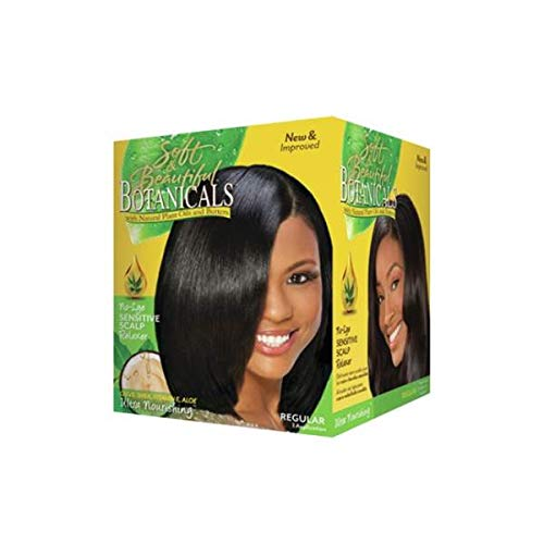 Soft & Beautiful Bot.Relaxer Kit Regular 1 Application