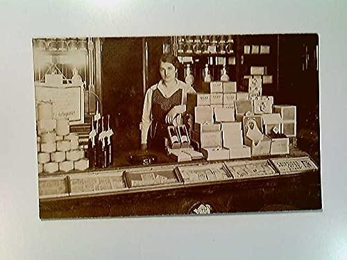 Kaiser's Kaffeegeschäft, Kaffee, Zigarren, Konserven, Wein, Innenaufnahme, AK, ungelaufen, ca. 1915