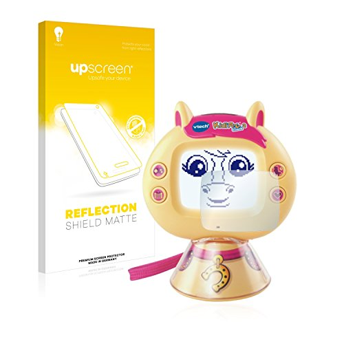 upscreen Protector Pantalla Mate Compatible con Vtech KidiPet Touch 2 (Pony) Película