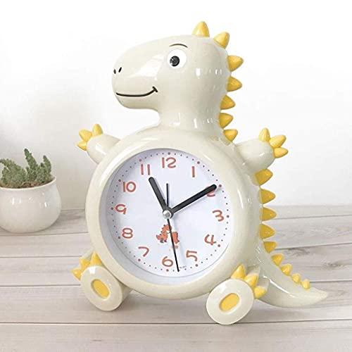 ZCZZ Reloj de Escritorio, Reloj Despertador para Dormitorio de niña Linda y Creativa, Reloj de Noche, Reloj de Dibujos Animados para niños, Reloj Despertador para Estudiantes, Reloj de Escritorio