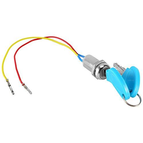 Interruptor de encendido universal, 2 llaves contacto moto para moto scooter ATV ✅