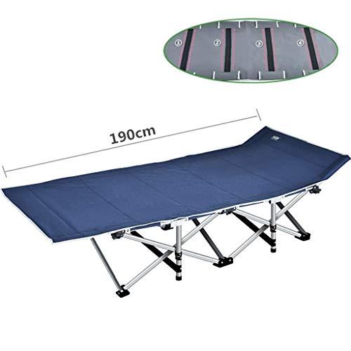 A-Qnice Klapp Angeln Camping Bett Schlafen Tragbare Rucksack Zelt für Indoor Möbel Outdoor Reise Wandern Jagd (Color : Blue)