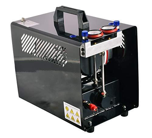 De Beste Twee Zuiger Airbrush Compressor met 3l Fles voor Twee Airbrushes 46 l/min met Bescherming Cover