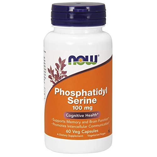 Now Foods Phosphatidyl Serine 100mg Standard - 60 Cápsulas