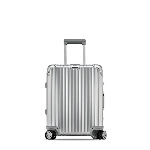 Rimowa Topas IATA Carry on Luggage 20'Inch Cabin Multiwheel 32L Suitcase Silver