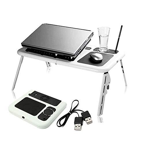 Tokyia norte de Europa Plegable portátil de escritorio del ordenador portátil plegable ajustable portátil portátil USB de la tabla E-Tabla aficionados Soporte de enfriamiento del Ministerio del Interi