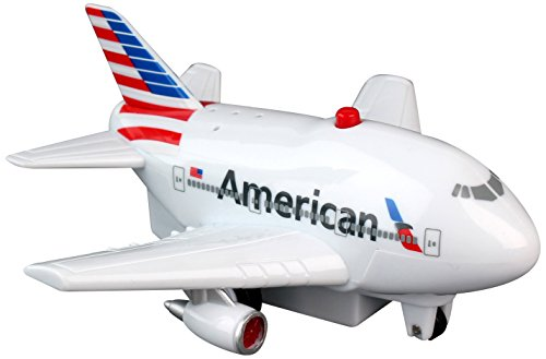 Daron American Pullback Plane with Light and Sound - styles and colors may vary