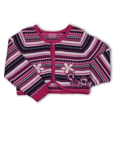 Pampolina 0211150450000 Baby - Mädchen Babybekleidung/ Jacken, Gr. 98, Rot (multicolor ), Fb. 79