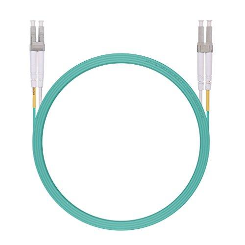 H!Fiber.com LC a LC Fibra Patch Cable Multimodo Dúplex OM3 10Gb 50/125um,...