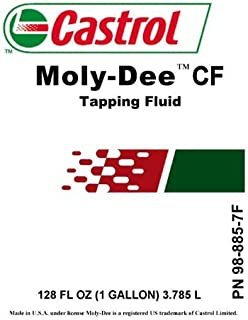 CASTROL VARIOCUT C MOLY-DEE Tapping Fluid 1 Gallon PN 98-885-7F(Expedited DELIVERY NOT Available)