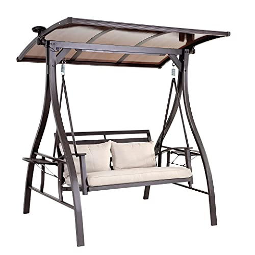2-Seat Outdoor Swings, Patio Swings Clearance for...