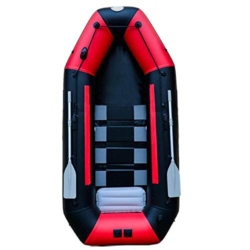 ADM-LC Barco Inflable Kayak Hinchable 3 plazas Kayak Hinchable Kayak Adulto PVC 230x115x30cm 3