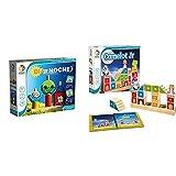 smart games Ludilo-Dia Y Noche, Bloques Bebes, Juguetes De Madera + Games-Sg031Es -Camelot Jr, Educativo, Juegos Preescolar