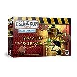 Cranio Creations- Escape Room Puzzle Il Segreto Della Scienzata Juego en Caja, Color Rojo (CC274)