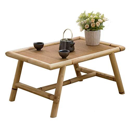 ADSE Tables Basses Table de Baie vitrée Baie vitrée Tatami Bambou et rotin Table de fenêtre Japonais Zen Petits Meubles Tables