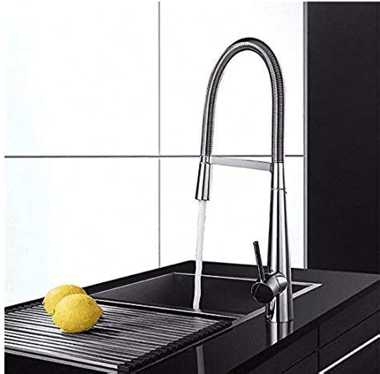 Oudan Küchen-Mischbatterie Kupfer-Spülbecken-Armatur Verstellbare Warm- und Kaltmischarmaturen (Farbe   -, Gre   -)