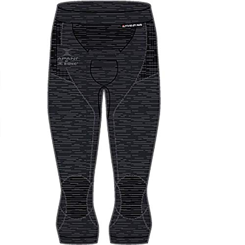 X-BIONIC Apani 4.0 Pantalon 3/4 en Laine mérinos pour Homme L Noir