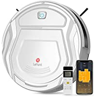 Lefant M210 1800Pa Strong Suction Automatic Self-Charging Robot Vacuum Cleaner with Wi-Fi/App/Alexa/ & Remote Control Ideal for Pet Hair Hard Floor and Low Pile Carpet