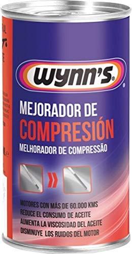Wynn s W51367 Mejorador de Compresión, Sistema de Lubricación, Consumo Excesivo de Aceite, Fabricado en Bélgica, 325ml