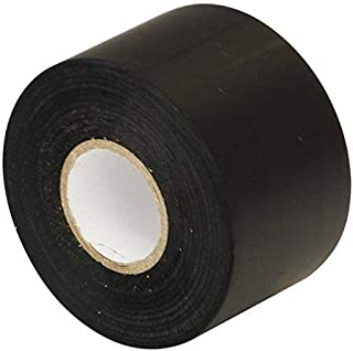 Gocableties - Cinta aislante de PVC (50 mm x 33 m), color negro