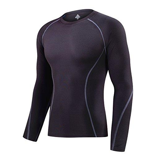 (アプテラー) APTERA [メンズ] 長袖シャツ スポーツシャツ コンプレッションウェア パワーストレッチ アン...