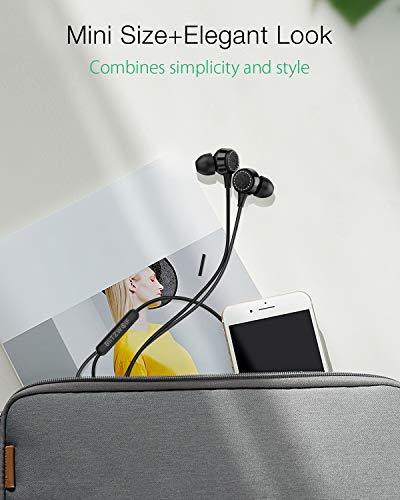 Samsung Tableta Huawei Auriculares con Controladores Din/ámicos de Grafeno para iPhone Auriculares con Cable MP3 y M/ás iPad Sonido Est/éreo PC BlitzWolf Auriculares In Ear con Micr/ófono