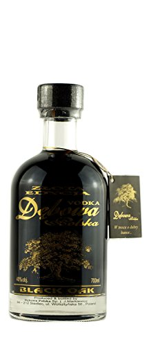 Debowa Black Oak Wodka | Special Edition | Polnischer Wodka | 40%, 0,7 Liter