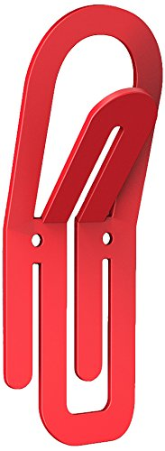 Bolis Italia CA2B000AQ2F1 Clip Haken, Stahl, 14,5x5,5x3,5cm, Rot