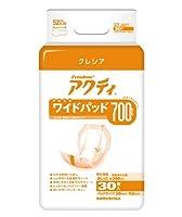 日本製紙クレシア アクティ ワイドパッド700 30枚×6