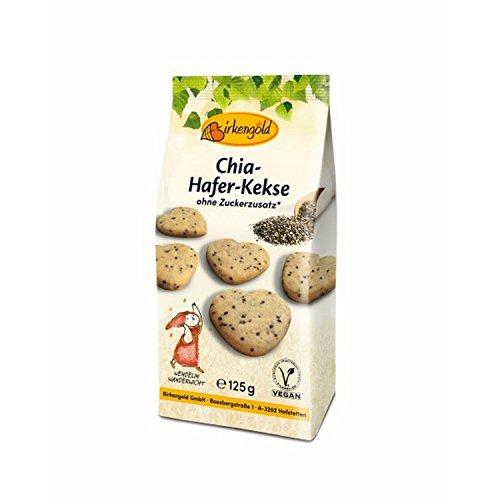 Birkengold Chia-Hafer-Kekse - 125g