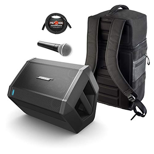 Bose S1 Pro Multi-Position PA System (with Backpack, Mic & Cable)