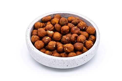 Sizilianische Bio Haselnüsse – 1kg – Extra große geschälte Haselnusskerne – Unbehandelt und ungeröstet – Rohkost – Vegan